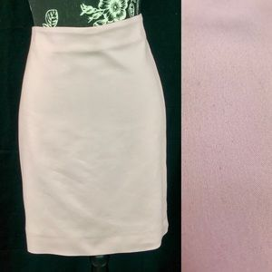 Adrianna Papell blush pencil skirt